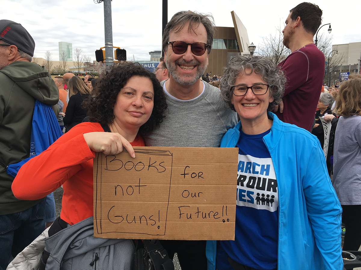 March for Our Lives with Rabbis Without Borders colleagues, 2018
